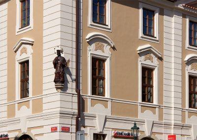 Dřevěná socha sv. Jana Nepomuckého